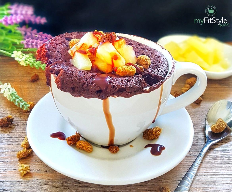 Gesunder Tassenkuchen Fur Die Mikrowelle Rezept Nahrwerte