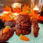 Herbst Kürbis Kekse