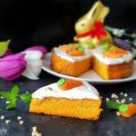 Gesunder Karottenkuchen zu Ostern