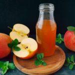 Apfelessig gesund Wirkung